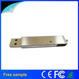 스테인리스 금속 강선전도 USB 지팡이 8GB가 중국에 의하여 Manufacter 자전한다