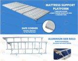 3 manivela manual de cama de hospital con 4 piezas de acero cama Junta (GT-BM3621)