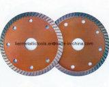 터보 파는 톱날 또는 다이아몬드 바퀴를