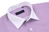 Chemise française de piste pourprée pour le vêtement neuf de l'homme