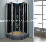 1000mm Corner Steam Sauna com chuveiro (AT-D0901)