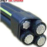 Cable de aluminio trenzado del ABC del conductor 11kv