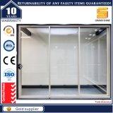 Doppi portelli interni di alluminio orizzontali di vetro glassato del foglio con As2047