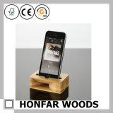 طبيعيّ خشبيّة خشبيّة حرفة هاتف حامل