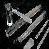 Quartz transparent/clair protégé par fusible Rods en verre Od2mm-80mm avec la grande pureté