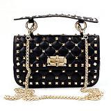 Le borse di cuoio reali di stile europeo hanno fissato i sacchetti di spalla delle signore con la catena Emg4896 del metallo