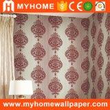 Design de luxe Soft Surface Velvet Flocking Wall Wall Décoration