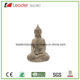 Polyresin Garden Buddha Statue decorativo para decoração de casa e ornamentos de jardim
