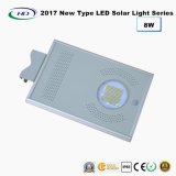8W Nuevo Tipo All-in-One Solar LED Street Light
