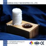 Tessuto appiattito non tessuto biodegradabile del ridurre in pani del tovagliolo di 100% Spunlace