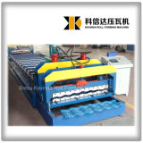 Застекленная Kxd-1080 машина Rollformer плитки