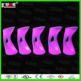 LED Party Rental Furniture LED Mobilier en plastique Bar Furniture LED