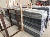Marbre en bois bleu en pierre normal de veine pour le plancher d'hôtel/la brame revêtement de mur