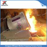 Four à induction de fonte de cuivre de fréquence moyenne (250KG)