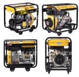 De open Enige Cilinder van het Type 2kw, 3kw, 5kw, 6kw Draagbare Diesel Generator