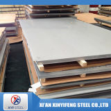 Placa plana de acero inoxidable 202 de ASTM 201