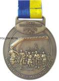 Medaille mit künstlerischem Gymnastik-Firmenzeichen 24