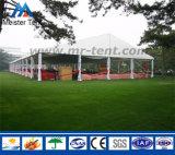 Tienda blanca de la carpa del PVC con las paredes de cristal para la venta