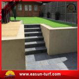 W-Form Einzelheizfaden-Garn-künstliches Gras für Fußballplatz