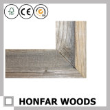 Cadre de tableau rustique en bois solide moulant pour la décoration à la maison