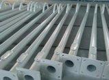Solar60W straßenlaterne mit Stahlpolen
