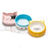 Ciotola di ceramica del cane della ciotola dell'animale domestico per alimento & acqua