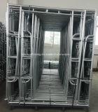 """DIP лесов рамки Walkthrough 5 ' x6'4 """" горячий гальванизированный для конструкции"""
