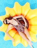 Раздувной поплавок бассеина солнцецвета, раздувной остров плавательного бассеина солнцецвета плавая
