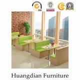Будочка самомоднейшего самомоднейшего типа мебели кафа деревянная для сбывания (HD490)