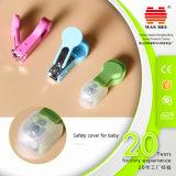 ABSキャッチャーおよび安全カバーが付いている幼児釘のカッター
