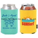 卸し売り昇進の個人化された習慣によって印刷されるネオプレンの昼食のクーラーのネオプレンの折りたたみKoozieのワイン・ボトルビール短い缶のクーラー