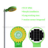 Integrated Sunflower LED solarly guards Light with Motion sensor
