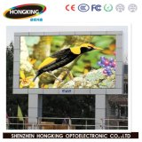 Visualización de mensaje al aire libre a todo color de P6mm LED para hacer publicidad de la cartelera de la muestra