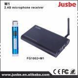 M1 drahtloser optischer Einpassagenempfänger des Mikrofon-2.4G für Klassenzimmer