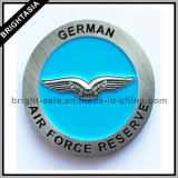 空軍(BYH-101154)のためのカスタム金属のバッジの紋章
