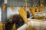 Конструкция инструмента зуба ведра землечерек стали углерода земная разделяет 2713-1221RC