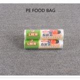 Sacchetto di plastica dell'alimento su rullo