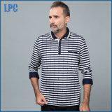 격자 무늬와 줄무늬 Mens 초로 폴로 셔츠