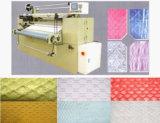 Migliore rifinitura del tessuto di qualità che pieghetta macchina