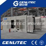 Generatore insonorizzato messo in recipienti del diesel di 600kw 750kVA Cummins