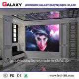 Étalage d'écran visuel fixe d'intérieur de mur de DEL pour la publicité