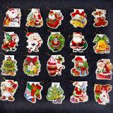Tarjeta de felicitación de la decoración de la Navidad