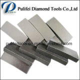 Segmento de diamante sólido de mármol bloque de corte