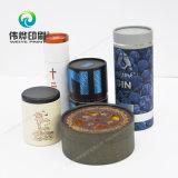 Fabrik-Preis-Qualitäts-Drucken-runder dekorativer Tee-verpackenkasten