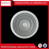 Couverture en aluminium Ceiling&#160 rond d'évent de diffuseur directionnel d'air de la CAHT ; Couvertures d'évent à C.A. de diffuseur