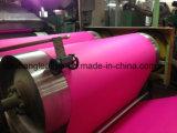 Cuero sintetizado del PVC del diseño único para la cubierta de asiento de coche (DS-315)