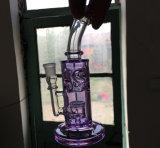Tubos que fuman coloreados huevo fabuloso de cristal de cristal del tubo de agua de la cachimba del tubo que fuma