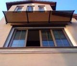 puerta del acero inoxidable del 100*100cm y toldo de las persianas de ventana