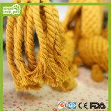 ペットリスの綿ロープは環境に優しい材料をもてあそぶ