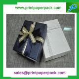 リボンが付いているカスタム贅沢なチョコレートケーキのボール紙のペーパーギフト用の箱